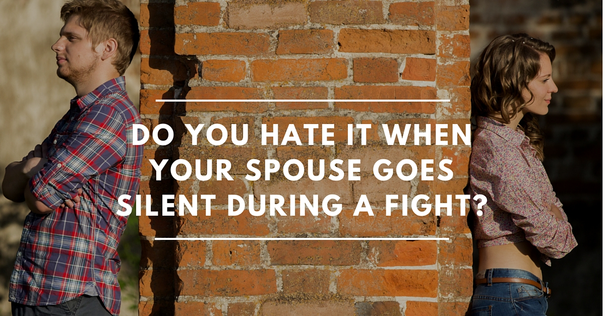 What To Do When Your Spouse Goes Silent On You