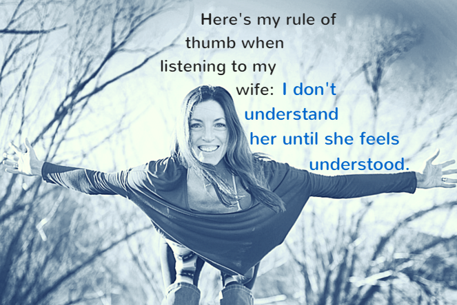 how to listen to a woman