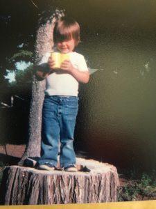 Me as a little boy